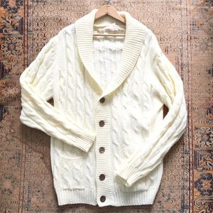 🆕 Listing! Cream oversized tall cardigan